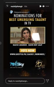 Nazish Jahangir And Faysal Quraishi Urge Fans To Vote For Them